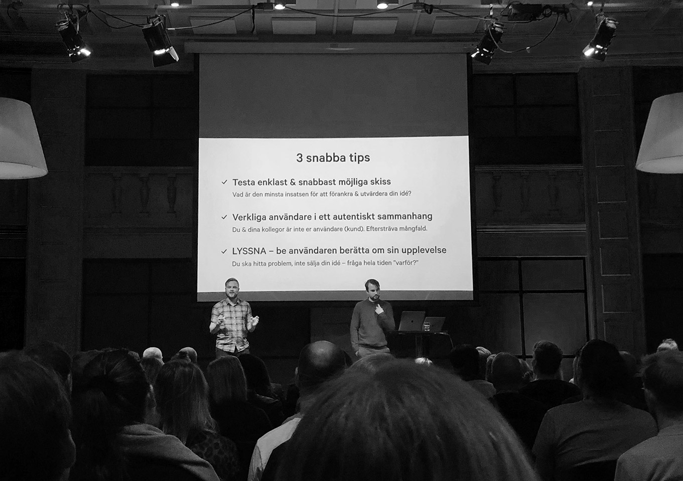 UX seminars and workshops